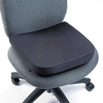 Kensington espuma de memoria asiento resto cojín, seatrest, Visco, BK dr210tm (unidades of2)