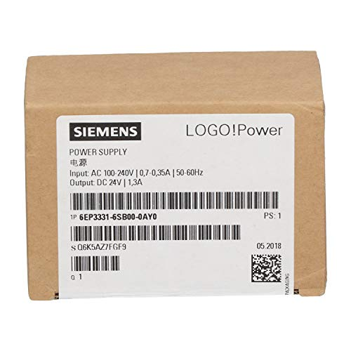 Siemens 6EP331-6SB00-0AY0 Leistungsadapter & Wechselrichter, innen Mehrfarbig – Leistungsadapter & Wechselrichter (Innenbereich, Mehrfarbig, 67 mm, 56 mm, 96 mm, 140 g)