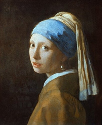 Girl with A Pearl Earring 1665 Jan Vermeer (1632-1675/Dutch) Oil on Canvas Mauritshuis The Hague Holland Poster Drucken (60,96 x 91,44 cm)