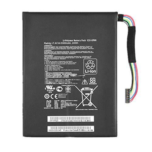 HUBEI C21-EP101 Batería de Repuesto para computadora portátil ASUS C21-EP101 C21EP101 EEE...