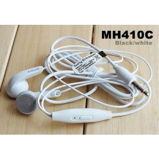 s Pacificdeals Mh410c Earphones with 3.5 mm Jack for Sony Xperia Z Z1 Z2 Z3 S P SP L M ZR T2 T3 C3 (White)