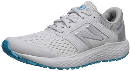 New Balance Women's 520v5 Cushioning Running Shoe, ARTIC FOX/LIGHT ALUMINUM, 7.5 M US