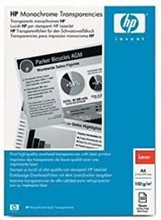 HP 92296U OEM - Film (Transparency) New LaserJet printer transparency film