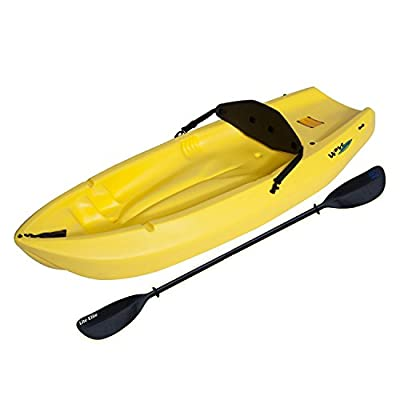 Lifetime 90100 Yellow 6' Youth Wave Kayak One Double-side Paddle