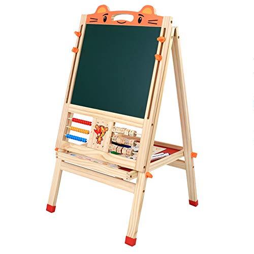 CJY- Cushion Doble Sided de Madera Base del Arte, Altura Ajustable magnético Tablero de Dibujo de Aprendizaje Juguetes educativos para los niños de los niños, Apto para Mayores de 3 años