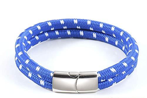 Touw Armband Heren Dames | Scheepstouw Armbanden Galeara met Magnetische Sluiting