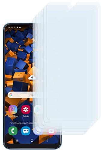 mumbi Schutzfolie kompatibel mit Samsung Galaxy A50 Folie klar, Displayschutzfolie (6X)