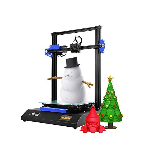 Anet ET5X DIY 3D Printer, Auto Leveling with Resume Printing Function, 3.5 Inch LCD Color Touch Screen, Upgraded Over-Current Protection Mainboard, 300x300x400mm