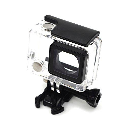 MeterMall Elektronische Protable Duiken Transparante Waterdichte Veilige Beschermende Shell Case voor Gopro HERO 4/3+/3 Camera Accessoires
