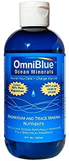 Sponsored Ad - OmniBlue Ocean Minerals | 100% Natural Solar-Harvested Ocean Electrolytes | All Required Macro and Trace Mi...