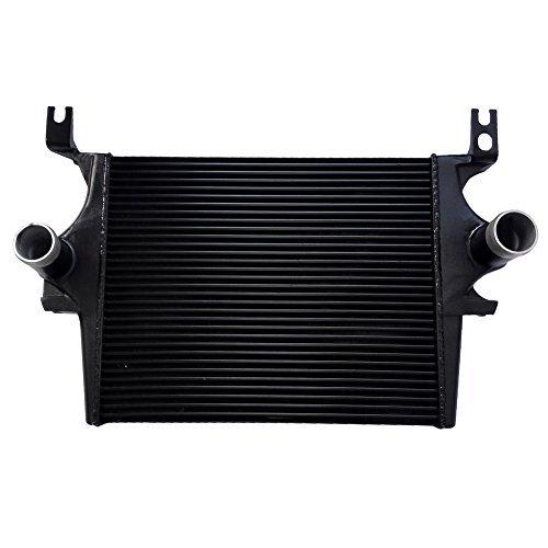 JSD Intercooler for Ford 6.0L Aluminum Intercooler fits Ford Excursion F-250 F-350 F-450 F-550 Can Be Painted