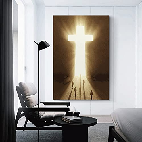 Abstract cross paintings _image3