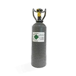 S-M-CO2-Mehrweg-Vorrats-Flasche-2Kg-gefllt-mit-Lebensmittel-E290-Kohlensure