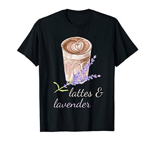 Lattes And Lavender Essential Oils T-Shirt