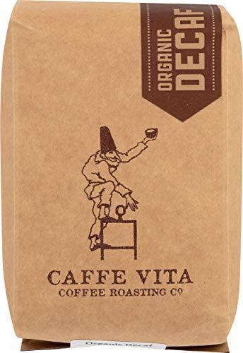 Caffe Vita Organic Decaf, Whole Bean, (Light) 12 oz