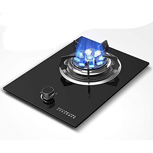 YXYY Estufa de Gas incorporada Mejorada 2021, Cocina de Mesa de 5.2KW, Botones máximos y mínimos Disponibles, Placa de Cristal fácil de Limpiar [Clase energética A] (Color: D, Tamaño: NG)