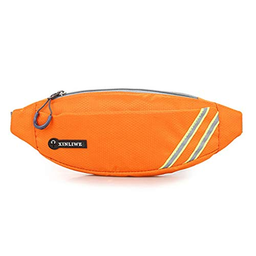 Review Running Waist bag Belt-Running Fanny Pack Waterproof Wallet Sports Bag Bum Waist Pouch Campin...