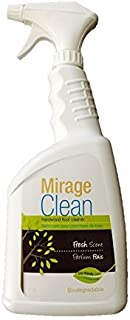 Mirage Clean Hardwood Floor Cleaner Eco-Friendly Fresh Scent Biodegradable Ready to Use Spray 34oz