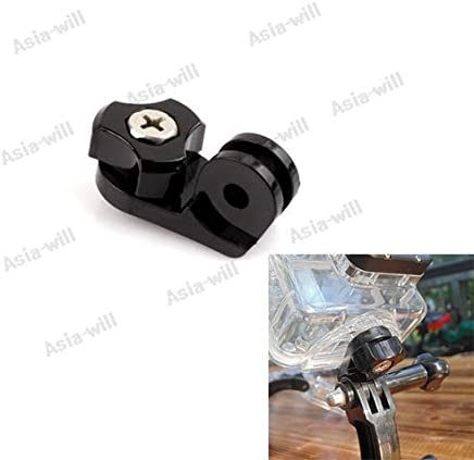 3+ Hero 3 Hero 2 Black Asiawill Bike Mounted Fixed Clamp Holder for GoPro HD Hero