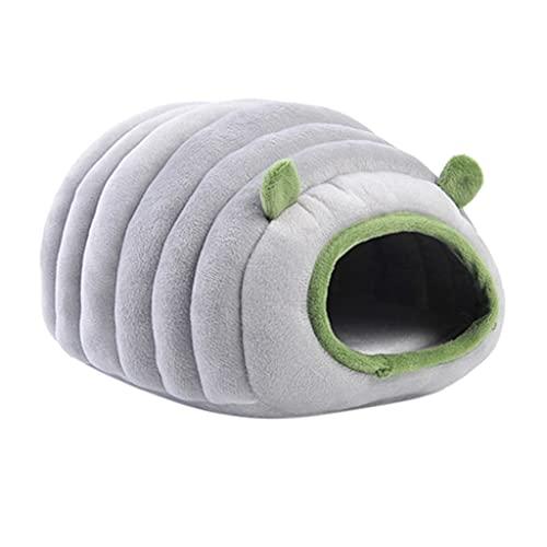 IRYNA Guinea Pig Bed Cave Beds Cute Sheep Design House Hideouts Jaula Accesorios para conejo enano hámster hurón