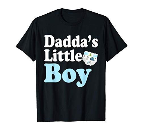 ABDL Clothing Adult Diaper Lover Dada's Little Boy Daddy Tee T-Shirt
