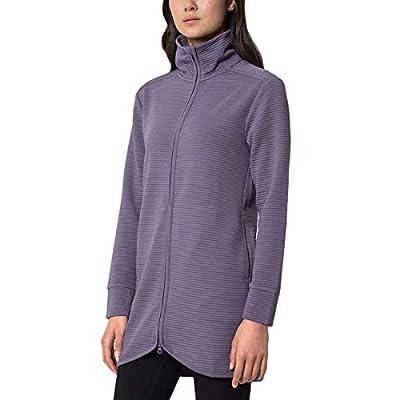 Mondetta Performance Gear Womens Ottoman Long Jacket (Mauve, Medium)