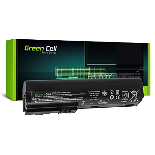 Green Cell SX06 SX06XL SX09 Laptop Akku für HP EliteBook 2560p 2570p (6 Zellen 4400mAh 10.8V Schwarz)
