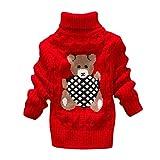 LEXUPE Baby Fleece-Overall, atmungsaktiver Unisex-Jumpsuit für Jungen und Mädchen mit langem Reißverschluss und Kapuze, farbig abgesetzt(Rot,100)
