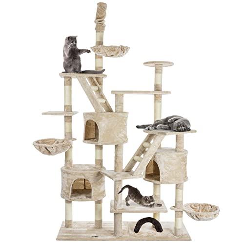 Happypet CAT013-3 Katzenbaum deckenhoch