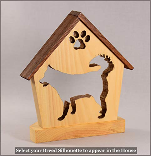 Customizable Pet Memorial Gift • Personalized Dog Memorial Gift for Dog Lovers • Pet Loss Dog Gift Idea • Pet Sympathy Candle Tea Light Gift | French Bulldog to Irish Setter
