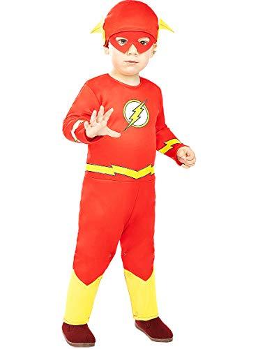 Funidelia | Costume Flash per Bebè Ufficiale per Neonati Taglia 12-24 Mesi  Supereroi, DC Comics, Justice League - Multicolore