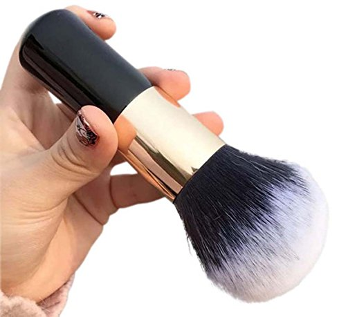 Super Soft Make-up kosmetische Pinsel Kabuki Gesicht Blush Brush Powder Foundation Werkzeug (Schwarz)