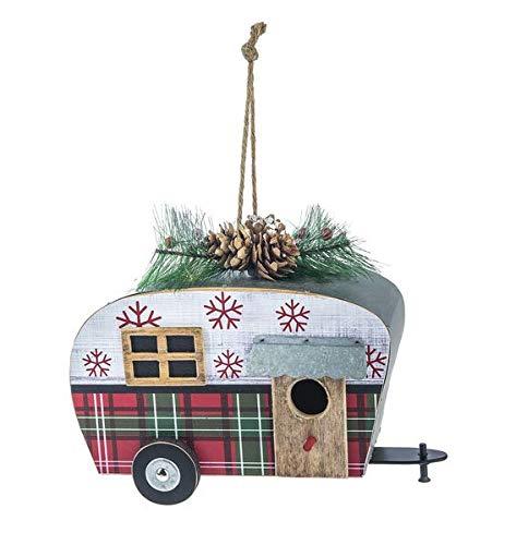 Ganz Christmas Santa's Ride Camper Birdhouse