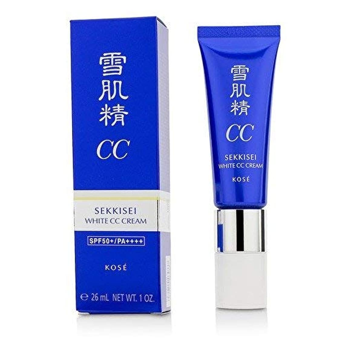 シフト直接酸化物コーセー 雪肌精 ホワイト CCクリーム【#01】 #LIGHT OCHRE SPF50+/PA++++ 30g