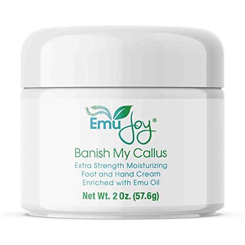 Banish My Callus Foot Callus Cream Hand Callus Remover – For Softening Rough Hard Dry Skin on Feet Hands Knees Elbows