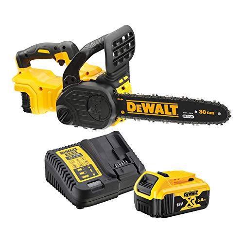 DeWALT DCM565P1 chainsaw Nero, Giallo