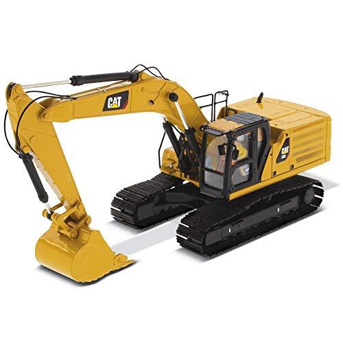 Diecast Masters CAT Caterpillar 336 Next Generation Hydraulic Excavator and Operator High Line Series 1/50 Diecast Model 85586