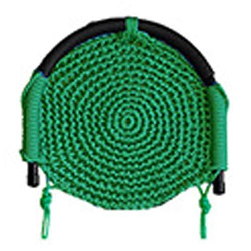 FOGUO Outdoor Vogelnest Schaukel, kann 150 kg tragen, Polyester Fasermaterial ist bequemer, Indoor Garten Spielplatz Kinderschaukeln,Green