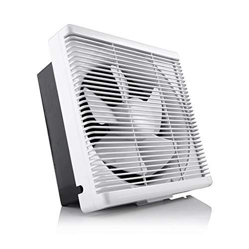 QIQIDEDIAN ventilator, afvoerluchtventilator, voor in de badkamer, keuken, ramen, afvoerventilator, 10 inch