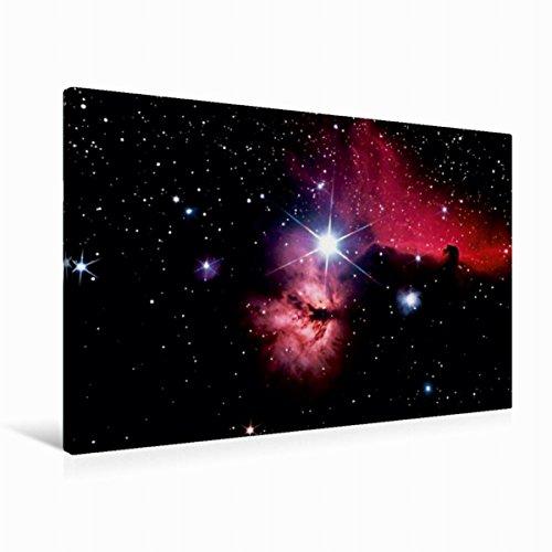 Premium Textil-Leinwand 90 x 60 cm Quer-Format Gürtelregion im Sternbild Orion | Wandbild, HD-Bild auf Keilrahmen, Fertigbild auf hochwertigem Vlies, Leinwanddruck von MonarchC