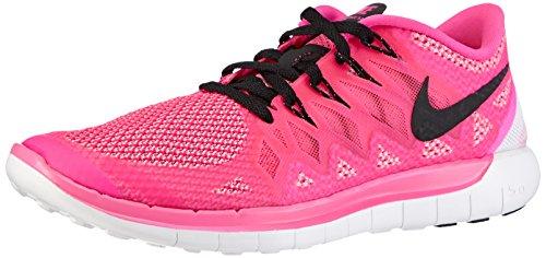 Nike Free 5.0, Damen Laufschuhe, Pink (Pink Pow/Black/Polarized Pink), 36 EU