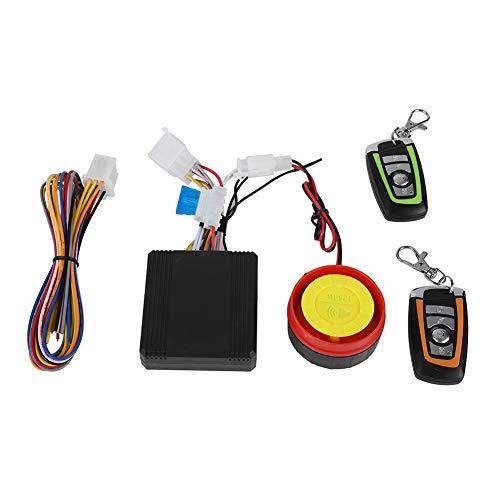 Mini sistema de alarma antirrobo para motocicleta, bocina de alarma de vibración...