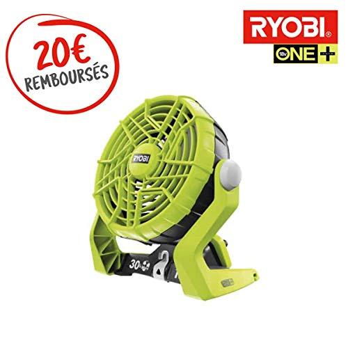 Ryobi Ventilator mit 2 Geschwindigkeitsstufen, 18 V, OnePlus, ohne Akku und Ladegerät R18F-0