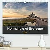 Normandie et Bretagne (Premium, hochwertiger DIN A2 Wandkalender 2021, Kunstdruck in Hochglanz):...