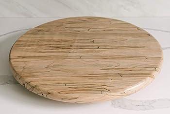 Ambrosia Maple Wood Lazy Susan Turntable 16