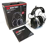 3M Bluetooth WorkTunes AM FM MP3 Radio Headphones - Wireless Hearing Protector by The ROP Shop