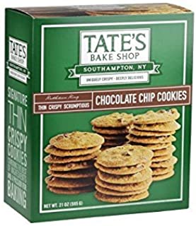 Tate's Bake Shop Chocolate Chip Cookies, Family Size 1 Pack ( 21 oz )