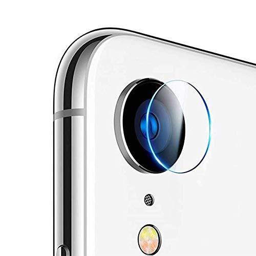 EasyULT Protector Cámara Compatible con iPhone XR [2 Pack], Cámara Trasera Lente Pantalla para Cristal Vidrio Templado