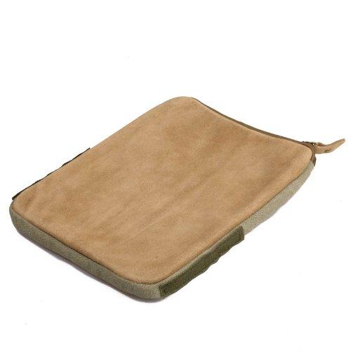 Kalahari Canvas Bohnensack-Stativ 21 x 26 cm Khaki Auflagekissen Bohnensack