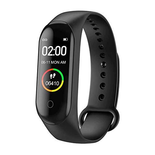 HYDT Bluetooth Pulsera Inteligente Monitor de Ritmo cardíaco Podómetro Monitor de sueño Impermeable Pulsera Deportiva Pedómetro Reloj